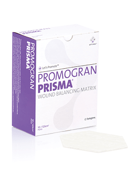 PROMOGRAN PRISMA- MATRIZ DE METALOPROTEASAS Y COLAGENO CON PLATA