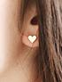 Petit heart earrings