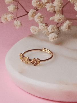 Anel mini flowers