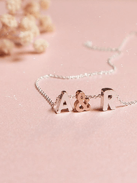 Necklace & Initials
