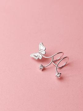 Earcuff borboleta