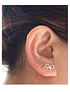 Tie Earrings