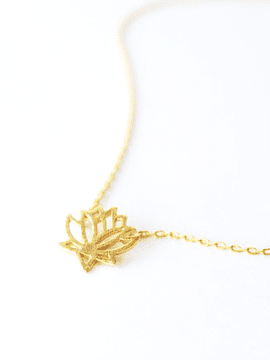 Collier fleur de lotus
