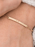Bracelet with engraving