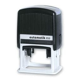 953 - Timbre Automatico 3x5cm
