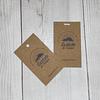 Pack 100 TAG / Etiqueta papel Ecologico Reciclable