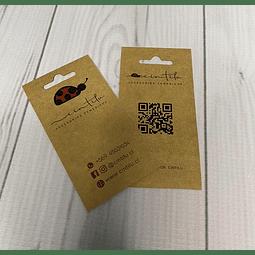100 TAG colgante / Etiqueta papel Ecologico Reciclable