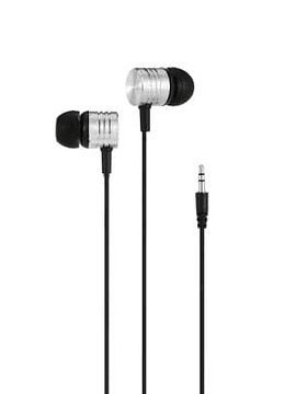 Auriculares de música KS01 In-ear para la interfaz de audio de 3.5mm