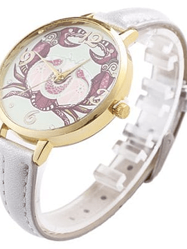 Reloj PU Band Constellation Series Mujer - Cancer