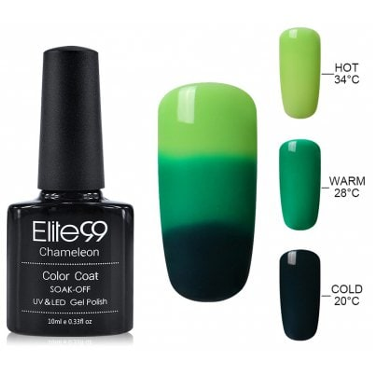 Elite99 10ML Camaleón Camaleón Temperatura Color de Gel E... | Clic