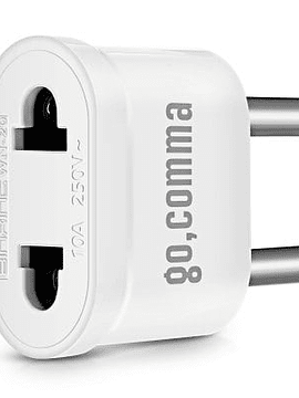 gocomma WN - 20 US to EU Standard Plug Type-C adaptador de corriente