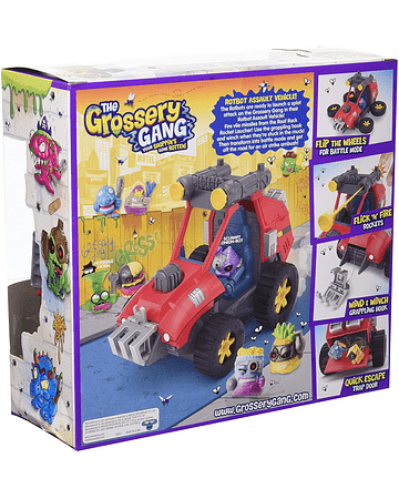 Grossery Gang Coleccionable Sorpresa AUTO- Pack