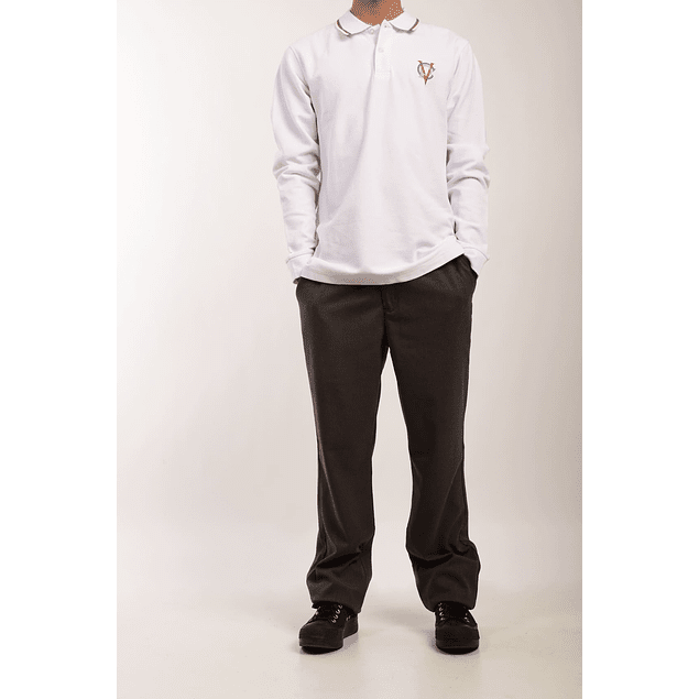 Polera Pique M/L Niño (10 - 16)