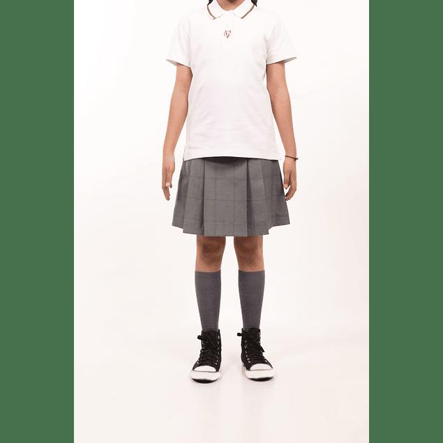 Polera Pique M/C Niña (6 - 8)
