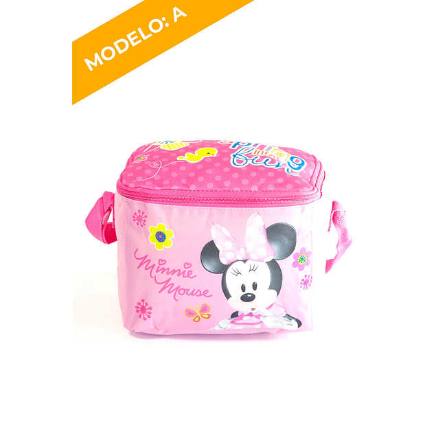 Lonchera Minnie 2 Diseños