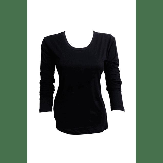 Camiseta bambú M/L negro
