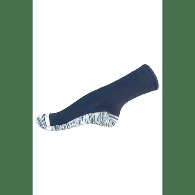 Calcetín Bambú-Cobre planta, Azul marino 36 - 39
