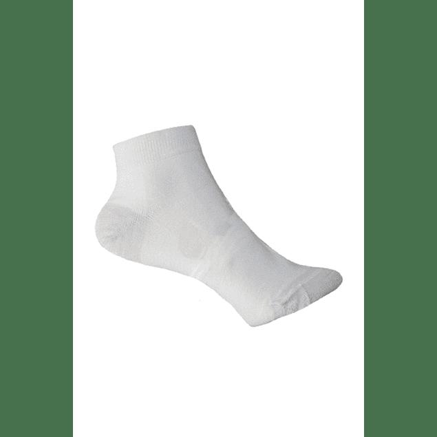 Calcetín Bambú-Cobre talón punta, Blanco 36 - 39