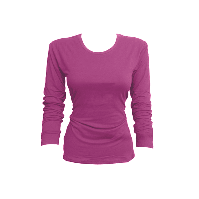 Camiseta bambú M/L rosado M - L