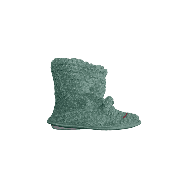 Pantufla infantil animales verde