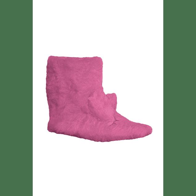 Pantufla infantil animales violeta 32 - 35