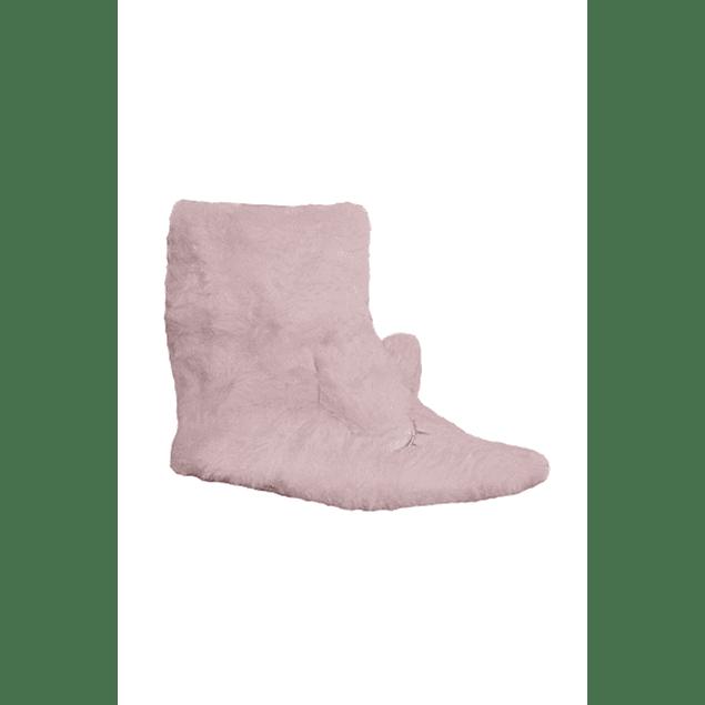 Pantufla infantil animales rosa pálido