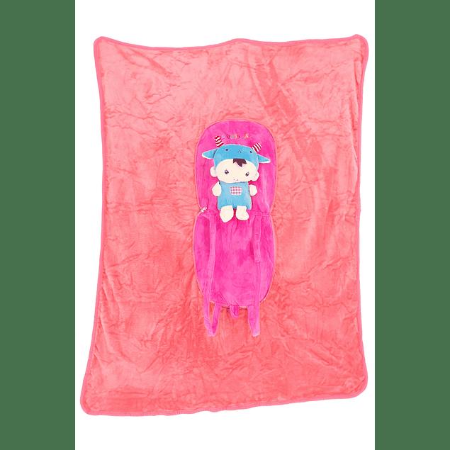 Frazada mochila Niño cabra