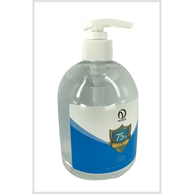 Alcohol Gel 500ml Certificado