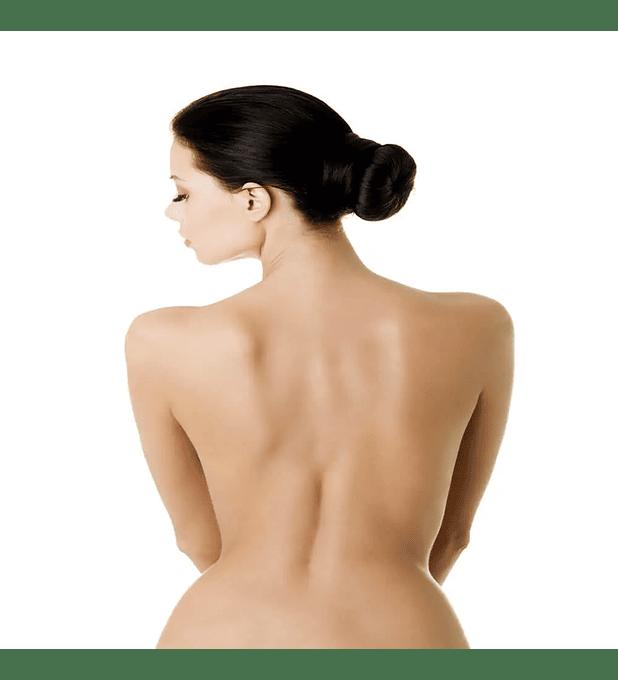 Depilación láser alexandrita espalda completa