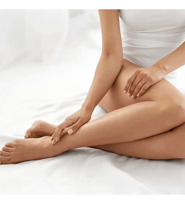 Depilación láser alexandrita media pierna