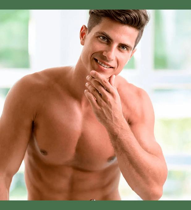 Depilación láser masculina tórax