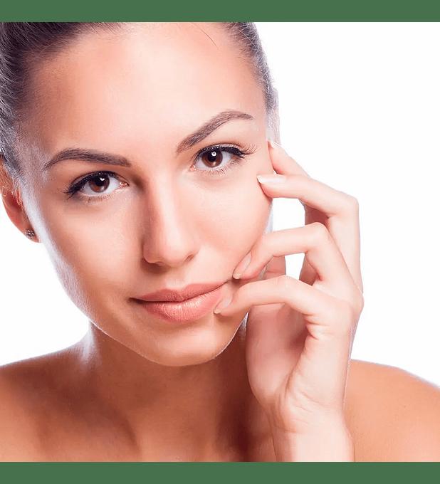 Limpieza facial con peeling ultrasónico + Vit C.