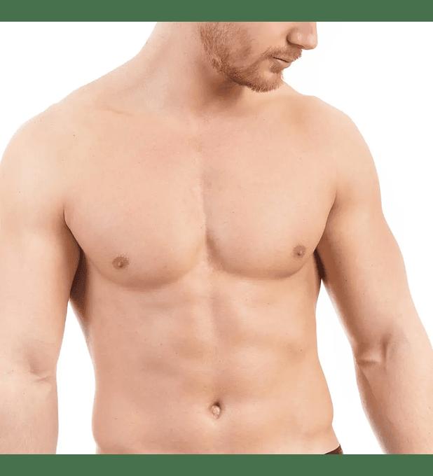 Depilación láser masculina hombros