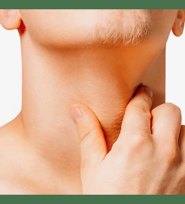 Depilación láser masculina cuello anterior