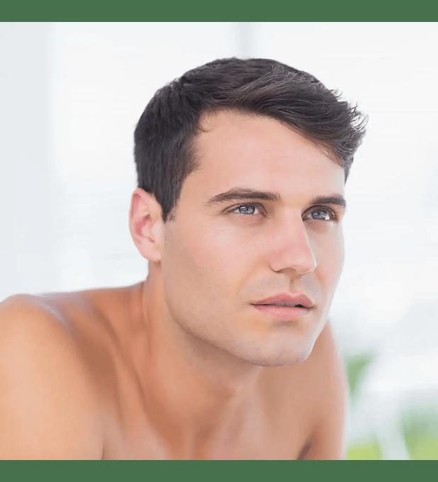 Depilación Láser Masculina Sobrecejo
