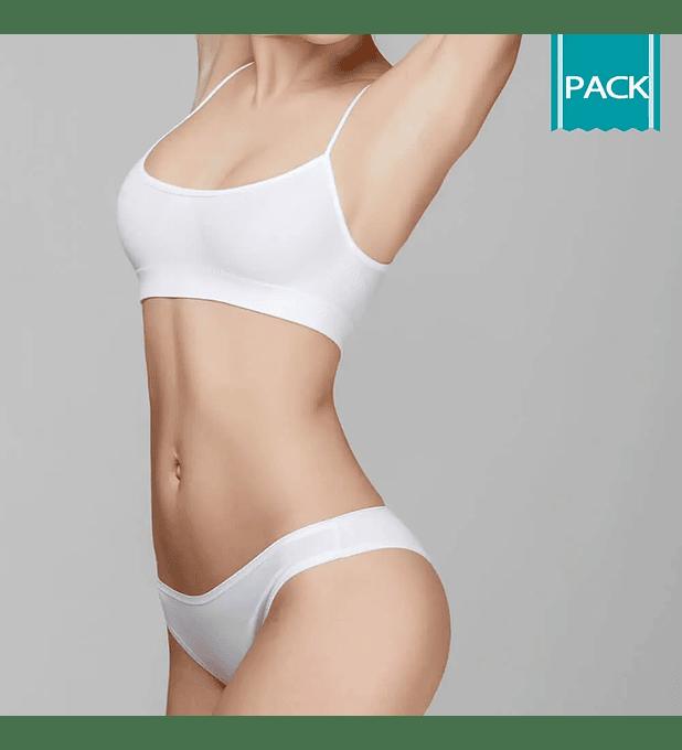 Depilación Láser Rebaje Bikini Largo + Axilas