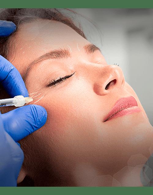 Eliminación de arrugas con Toxina Botulínica 1 zona