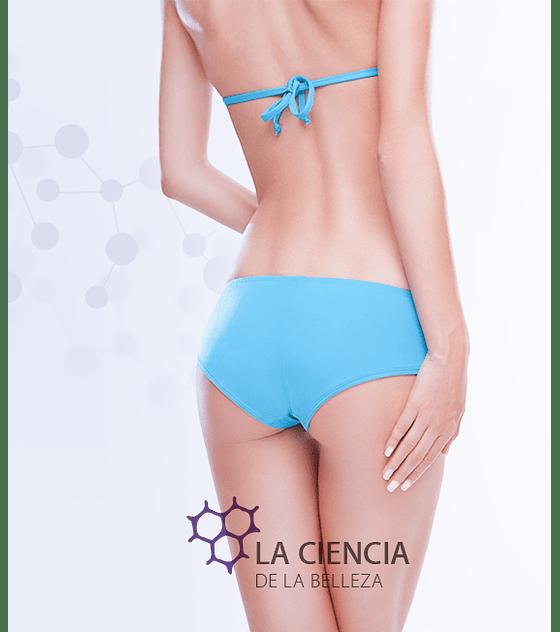 Depilación láser diodo bikini full + línea interglútea