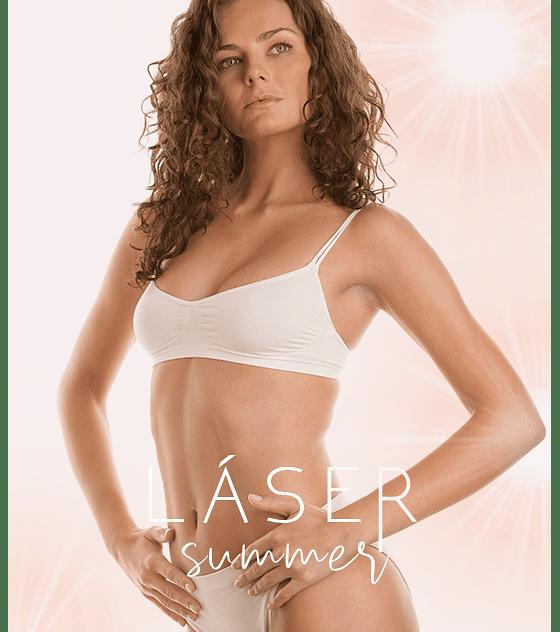 6 sesiones Depilación láser diodo pack Bikini full + Ig