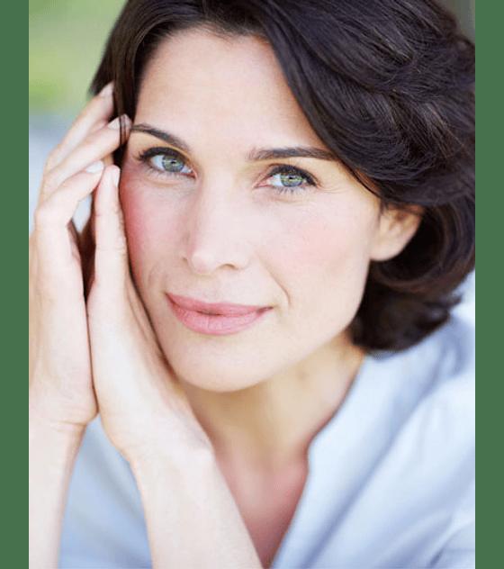 Contorno de rostro más definido y firme con Ramas de ácido hialurónico