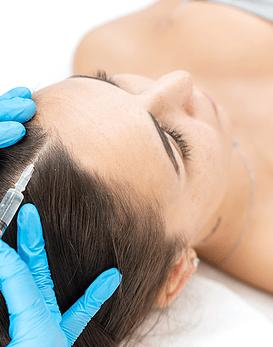 Pack Detén caída del cabello con 1 PRP Premium capilar + 1 Mesoterapia capilar