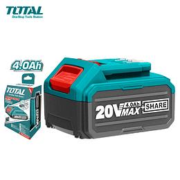 Bateria Litio-Ion 20V 4.0Ah P20S Total