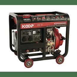 Motosoldador Diesel 200 amp  KOOP.
