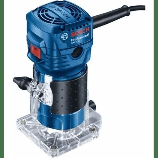 Fresadora Rebajadora Gkf 550 Bosch 1/4 550w
