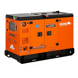 Generador Diésel de 12 KVA Monofásico KOLVOK