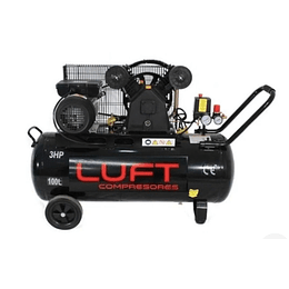 Compresor de Aire 3HP 100 Litros LUFT