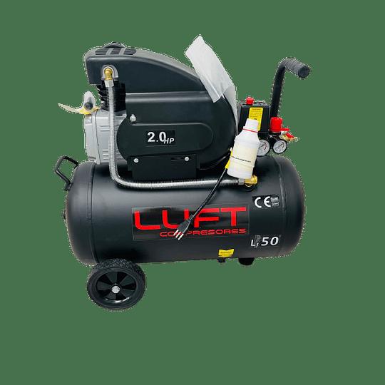 Compresor de Aire 2HP 50Litros LUFT