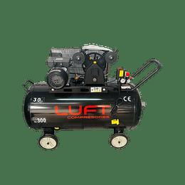 Compresor de Aire 3HP 300 Litros LUFT