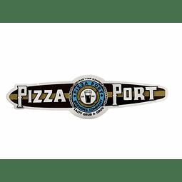 Sticker Tabla Surf Pizza Port