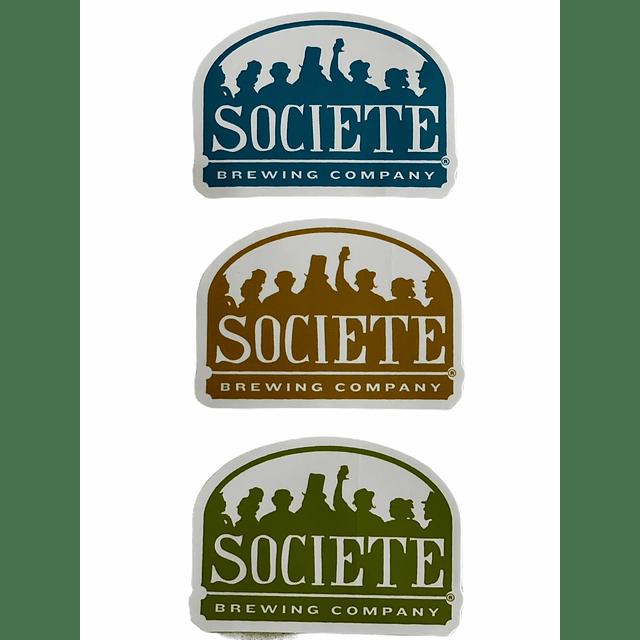 Pack Stickers Societe